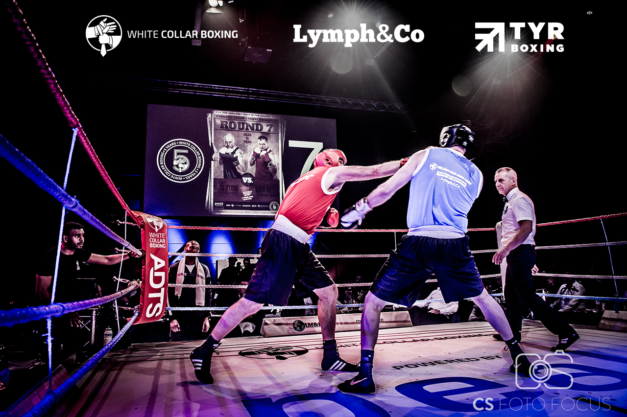 White Collar Boxing Event